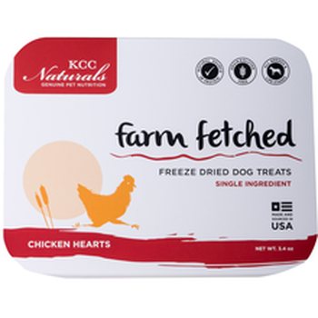 KCC Naturals Freeze Dried Chicken Hearts