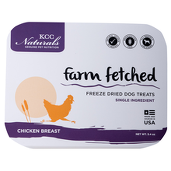 KCC Naturals Freeze Dried Chicken Breast