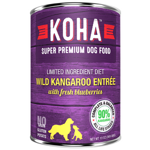 KOHA Pet Food Wild Kangaroo Entree 13oz.