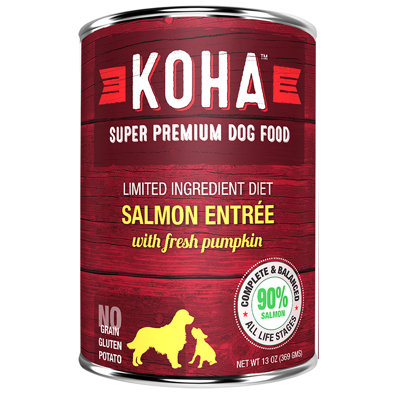 KOHA Pet Food Salmon Entree 13oz.