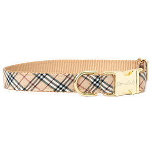 Crew LaLa London Plaid Too Dog Collar