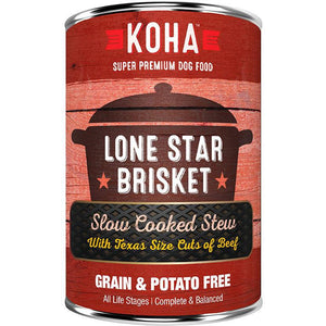 KOHA Pet Food  Lone Star Brisket Slow Cooked Stew 12.7oz.