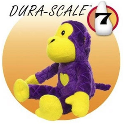 Tuffy's Pet Toys Mighty Toy Safari Series - Monkey Purple