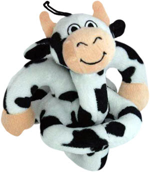 Loopies Black & White Cow