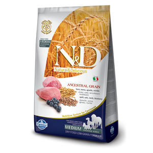 N&D Ancestral Grain Lamb and Blueberry Adult