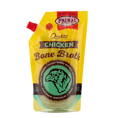 Primal Pet Foods Chicken Bone Broth 20oz.