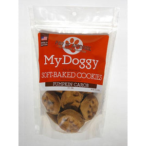 My Doggy Pumpkin and Carob Soft-Baked Cookies