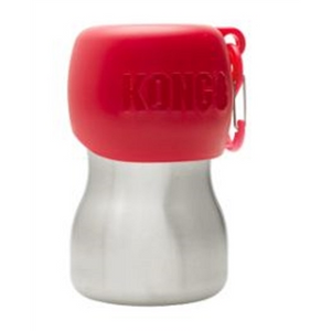 KONG 9.5 oz Stainless Steel Dog Water Bottle