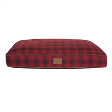 Load image into Gallery viewer, Carolina Pet Company Red Ombre Plaid Pet Napper