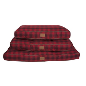Carolina Pet Company Red Ombre Plaid Pet Napper