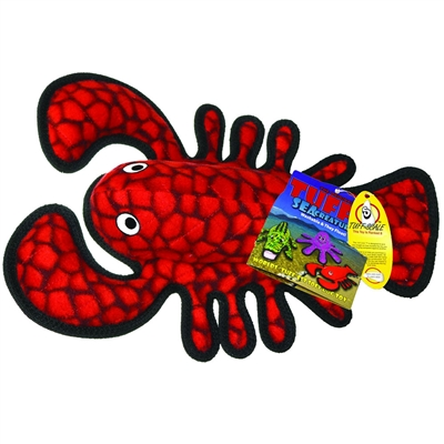 Tuffy's Pet Toys Sea Creatures - Larry Lobster