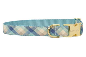Crew LaLa Sullivan's Check Dog Collar
