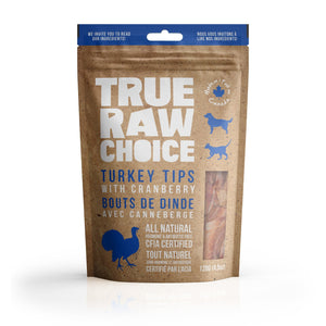True Raw Choice Turkey Tips with Cranberry