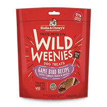 Stella and Chewy's Wild Weenies Game Bird Treats
