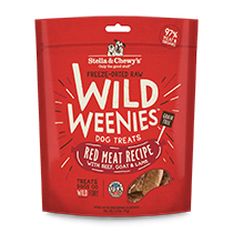 Stella and Chewy's Wild Weenies Red Meat Treats