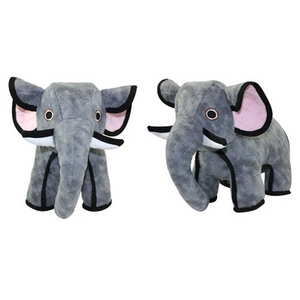 Tuffy's Pet Toys Zoo Series - Emery Elephant