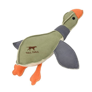 Tall Tails Canvas Duck with Squeaker