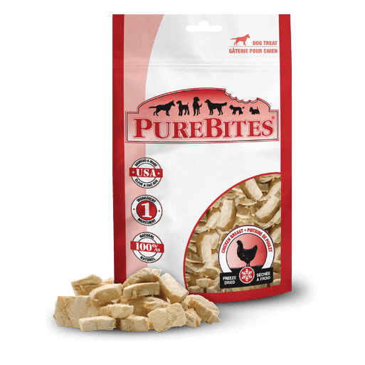 PureBites Freeze Dried Chicken Breast Treats