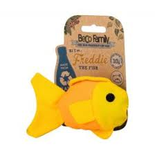 Beco Cat Plush Toy Fish