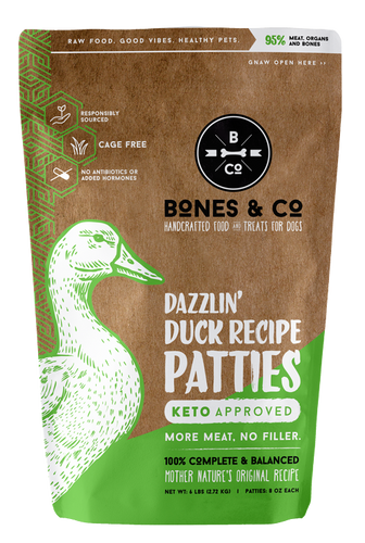 Bones & Co Dazzlin' Duck Recipe Patties