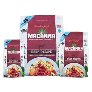 Grandma Lucy's Freeze Dried Macanna Beef