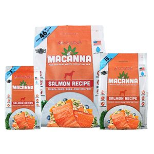 Grandma Lucy's Freeze Dried Macanna Salmon