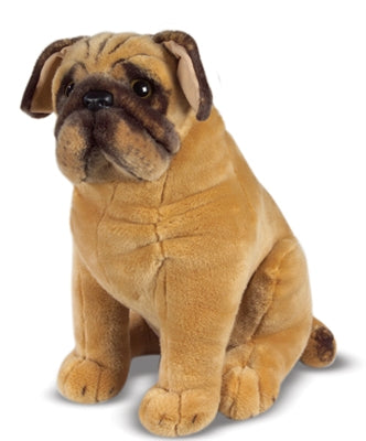 Melissa and Doug Pug - Plush