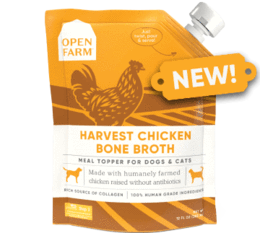 Open Farm Harvest Chicken Bone Broth