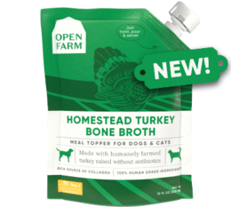 Open Farm Homestead Turkey Bone Broth
