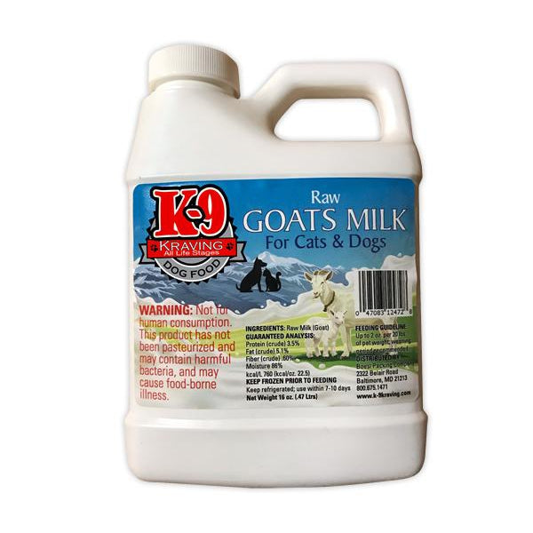 K-9 Kraving Raw Goats Milk