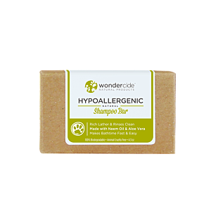 Wondercide Hypoallergenic - Natural Shampoo Bar