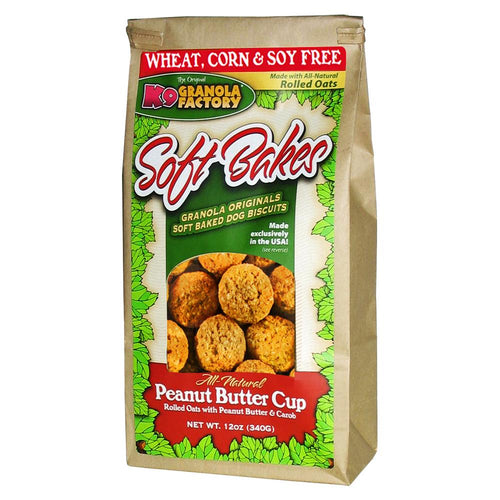K9 Granola Factory Soft Bakes-Peanut Butter Cup