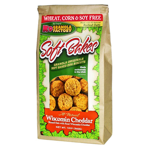 K9 Granola Factory Soft Bakes-Wisconsin Cheddar