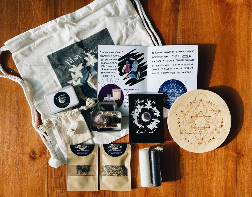 Full Moon Circle Sacred Home Solo Kit