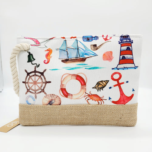 NAUTICAL ZIPPER WRISTLET