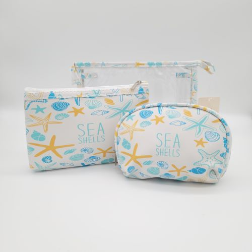 SEA LIFE COSMETIC BAG SET