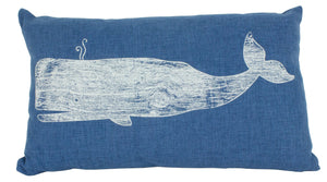 DECORATIVE WHALE PILLOW