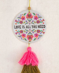 NATURAL LIFE AIR FRESHENER -  LOVE IS ALL YOU NEED
