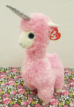 Load image into Gallery viewer, TY Beanie Baby – Lana the Llamacorn Llama Unicorn