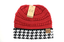 Load image into Gallery viewer, CC Beanie - Houndstooth