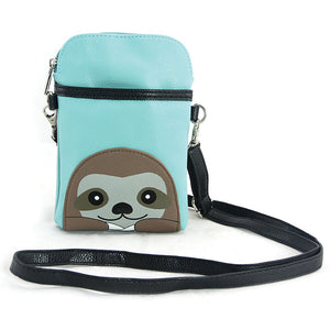 """Sloth"" crossbody pouch"