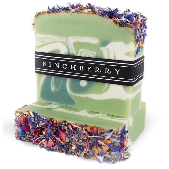 FinchBerry Mint Condition - Handcrafted Vegan Soap
