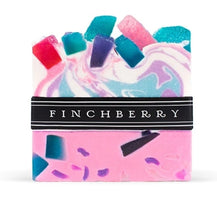 Load image into Gallery viewer, FinchBerry Spark - Handcrafted Vegan Soap