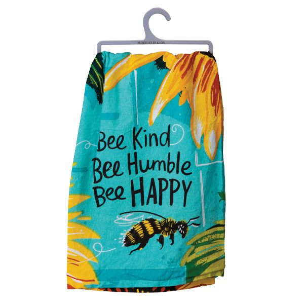 Dish Towel - Bee Kind Bee Humble Bee Happy