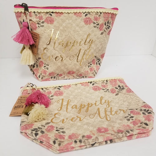 Happily Ever After Canvas Pouch