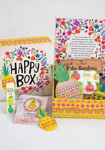 Pineapple Happy Box