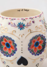 Load image into Gallery viewer, Sugar Skull Folk Mug