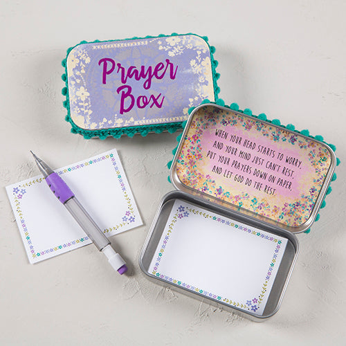 Prayer Box - Pink and Purple