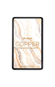 Copper GEN NUDE Eyeshadow Palette