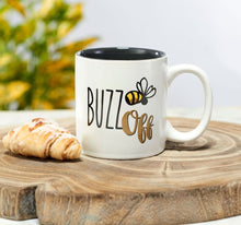Load image into Gallery viewer, BUZZ OFF COFFEE MUG